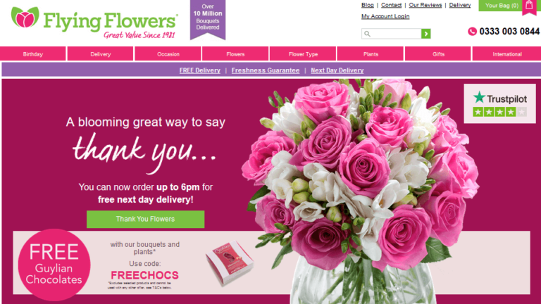 Cheap Flowers By Post