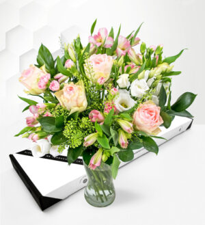 Pink Perfection - Letterbox Flowers - Pink Letterbox Flowers - Letterbox Flower Delivery